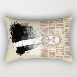 The Dude, The Big Lebowski Quote  Rectangular Pillow