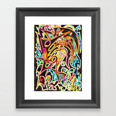 Amazing Brooks (remix) Framed Art Print