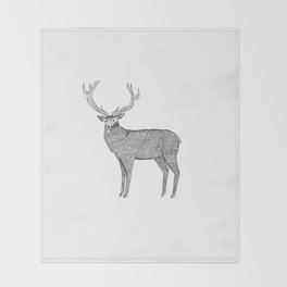 Deer Throw Blanket