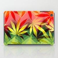 marijuana iPad Cases featuring Marijuana by SpecialTees