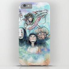 Spirited Away Watercolor Painting iPhone 6 Plus Slim Case