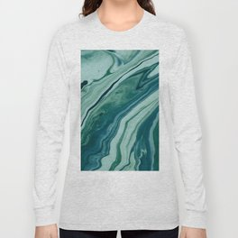 Blue Planet Marble Long Sleeve T-shirt