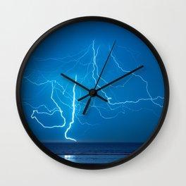 Lightining Wall Clock