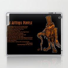 Autumn People 1 Laptop & iPad Skin