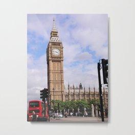 Big Ben, London I Metal Print