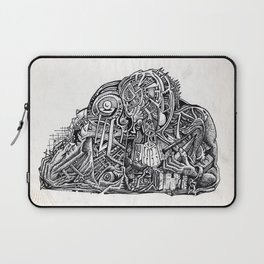 Psycho Warrior, by Brian Benson Laptop Sleeve