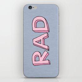RAD iPhone Skin