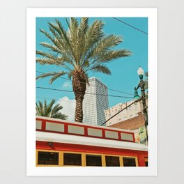 Downtown New Orleans Art Print