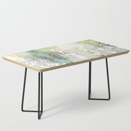 Fractured Silver Coffee Table