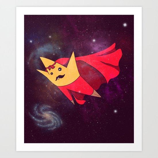 "Super ""Star"" Art Print"