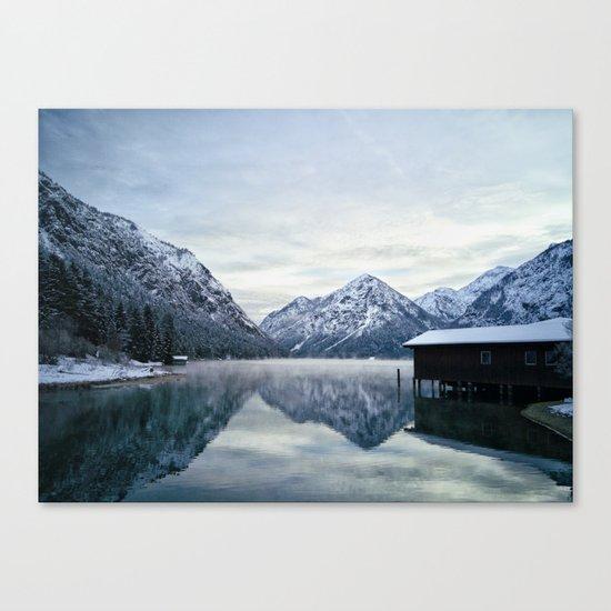 lake House #society6 #buyart Canvas Print