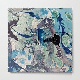 Tangled Up Blue Metal Print
