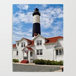 """""""Big Sable Point Lighthouse"""" #2 Poster"""