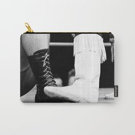 wrestling boots Carry-All Pouch