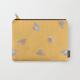 Vintage inspired abstract print Carry-All Pouch
