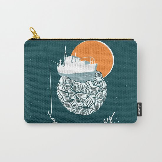Fishing for Compliments Carry-All Pouch