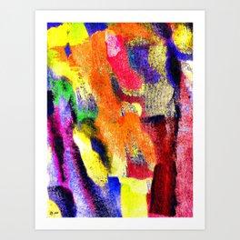 Abstract Poster Art Print