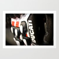 ducati Art Prints featuring Ducati Digits by Desmo Vita