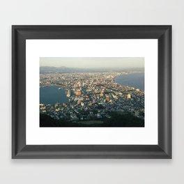 Hakodate, Japan Framed Art Print