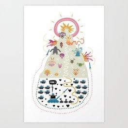 HollyWar Art Print