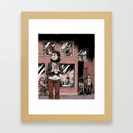 Digestate Framed Art Print