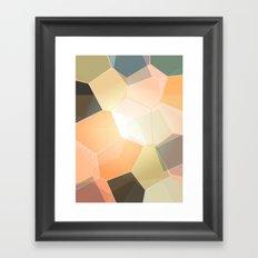 Heavenly Patterns Framed Art Print