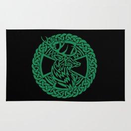 Celtic Nature Deer Rug