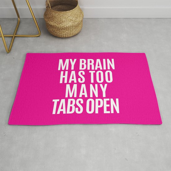 My Brain Has Too Many Tabs Open (Pink) by creativeangel