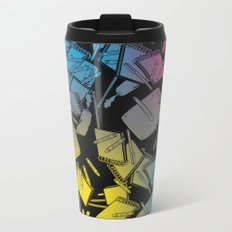 CMYK Metal Travel Mug