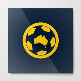 Australia (World Cup 2018) Metal Print