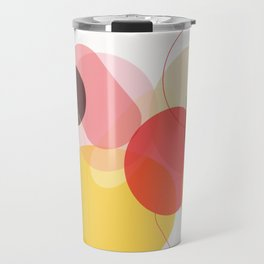 Color Geometry Travel Mug
