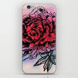 Waterflower I iPhone Skin