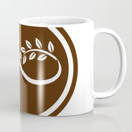 Horse Mobius Strip Branch Oval Coffee Mug