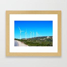 Harvesting Wind Framed Art Print