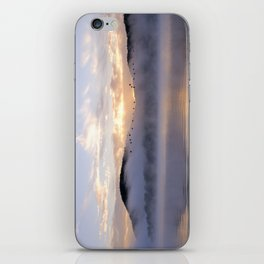 Misty Morning on the Lake iPhone Skin