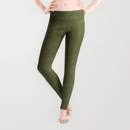 Italian Style Tuscan Olive Green Stucco - Luxury - Neutral Colors - Home Decor - Corbin Henry Leggings
