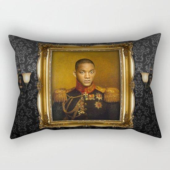 Will Smith - replaceface Rectangular Pillow