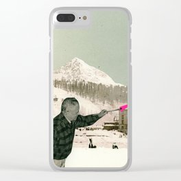 The Painter Clear iPhone Case