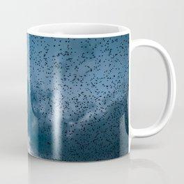 A murmuration of starlings (II) Coffee Mug