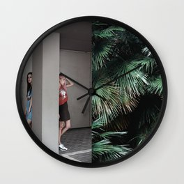Concrete Jungle Wall Clock
