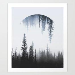 Reflective Nature Art Print