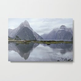 Reflection of the Sound Metal Print