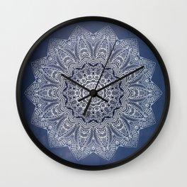 INDIGO DREAMS Wall Clock