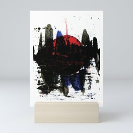Black Storm Mini Art Print
