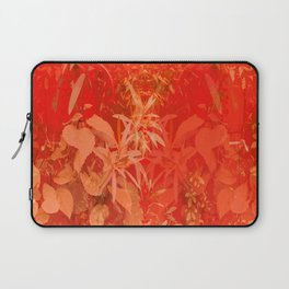Beautiful red foliages - illustration of garden Laptop Sleeve