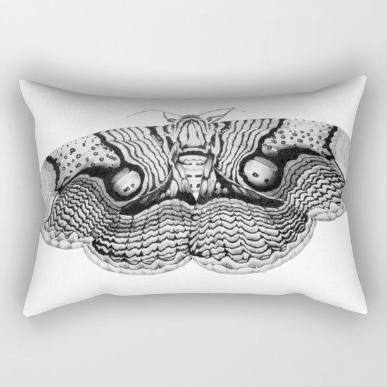 Brahmin Moth Rectangular Pillow