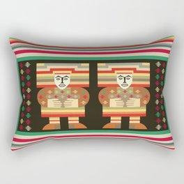 Nick's Blanket 1968 Version 2 (With Figures) Rectangular Pillow
