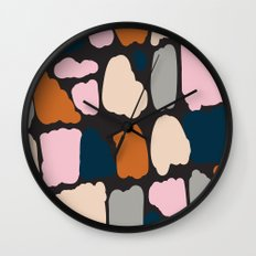 Painted Clouds Wall Clock