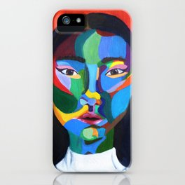Abstract strong woman  iPhone Case