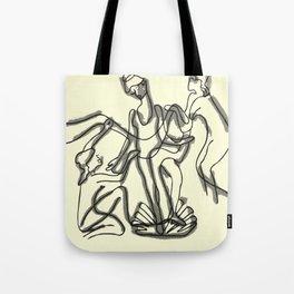 women by the ocean 2 Tote Bag